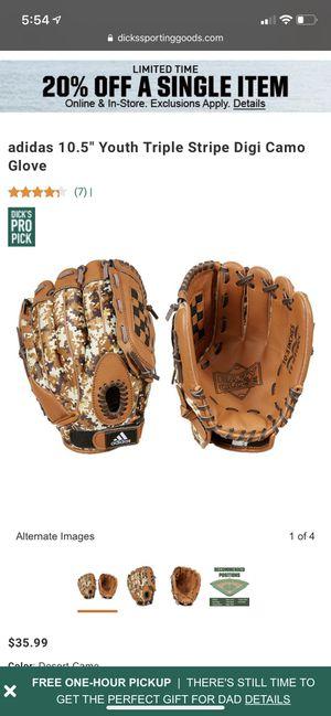 Youth adidas baseball glove for Sale in Turlock, CA