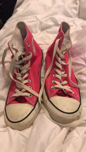 Hot Pink Converse Allstars for Sale in McAllen, TX