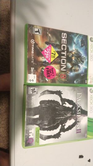Games, Darksiders2,Section 8 for Sale in Mason City, IA