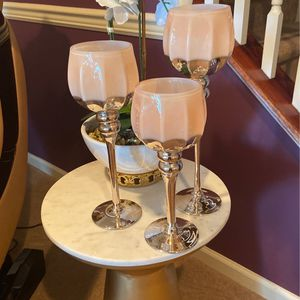 Candle Holders Set of 3 for Sale in South Amboy, NJ