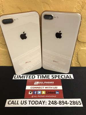 Sale: T-Mobile & Metro Pcs iPhone 8 Plus 64gb Used Gold Mint Condition for Sale in Royal Oak, MI