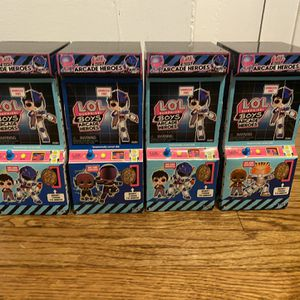 LOL Surprise Boys Arcade - Lot of 4 for Sale in Chicago, IL