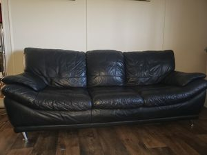 Black Couch & Love Seat for Sale! for Sale in Axson, GA