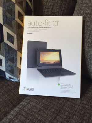 New Zagg bluetooth folio tablet case with keyboard for Sale in Smyrna, TN