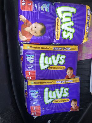 Luvs Pampers Size 1 for Sale in Bakersfield, CA