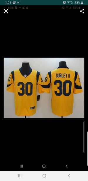 LA RAMS GURLEY JERSEY SIZE SM-3Xl 100% STITCHED for Sale in Colton, CA