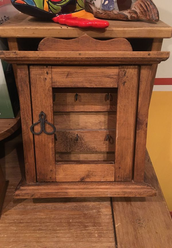 Hand made , real wood ,key hanger