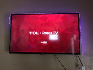 50 Inch TCL 4K HRD Roku Smart Tv for Sale in Columbus, OH