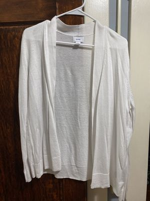 Old Navy Women's large white cardigan for Sale in West Hartford, CT