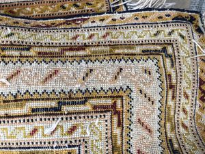 5x7 oriental area rug handmade hand knotted wool for Sale in Pembroke Pines, FL
