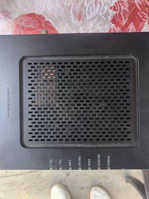 Motorola WiFi modem for Sale in Glendale, CA