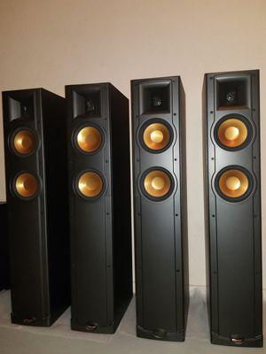 4 Klipsch R15 Tower Speakers & Klipsch RW 10 Subwoofer (Brand New Condition) for Sale in Phoenix, AZ