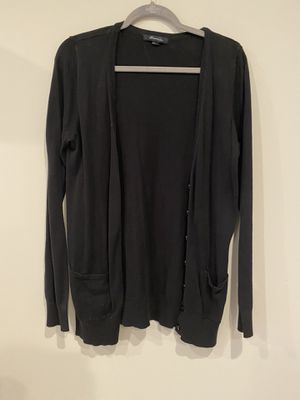 Forever 21 black button up long cardigan for Sale in Silver Spring, MD
