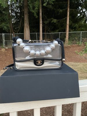 Chanel By the Sea bag with Pearl Handle for Sale in Mercer Island, WA