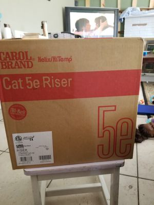 cat5 1000ft roll of cable new never used for Sale in Las Vegas, NV