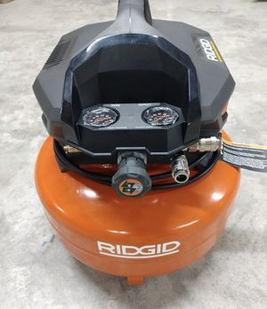 RIDGID 6 Gallon 150 PSI Pancake Air Compressor for Sale in St. Petersburg, FL