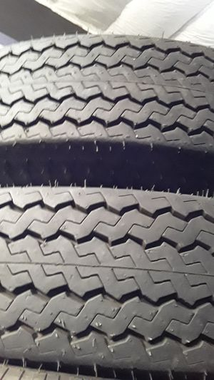 2X TIRES 7.00 - 15 LT for Sale in Joint Base Lewis-McChord, WA