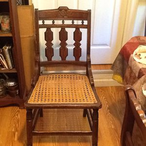 Wood Chair with Cain Seat for Sale in Orlando, FL