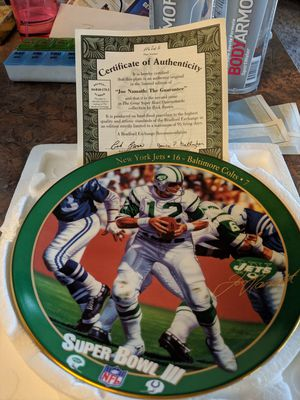 NFL plates plaques for Sale in Montrose, CO