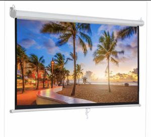 "120"" Projector Screen for Sale in El Monte, CA"
