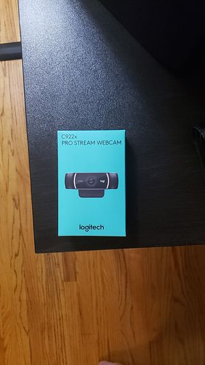 Logitech c922x Pro stream webcam for Sale in Glendale, CA