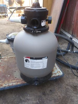 Pump for pool with filter for Sale in Bakersfield, CA