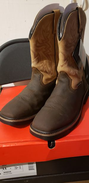 Wolverine square toe work boots for Sale in Houston, TX