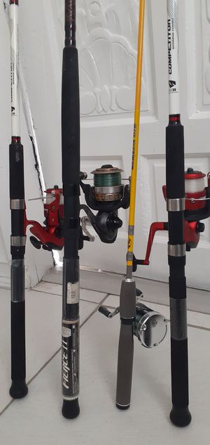 Fishing rods for Sale in Miami, FL