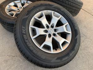 "18"" Nissan Frontier Xterra Wheels 6x114.3 Tires 6x4.5 Pathfinder Rims for Sale in Rio Linda, CA"