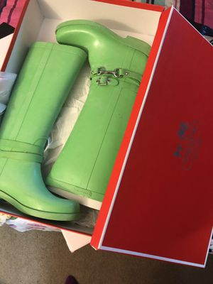 Coach Rain boots for Sale in Brentwood, NC
