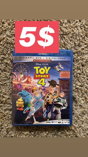 Toy story 4. Blu-ray for Sale in Arlington, TX