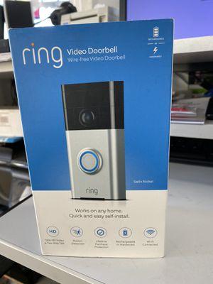 Ring video doorbell wire free doorbell for Sale in Hayward, CA