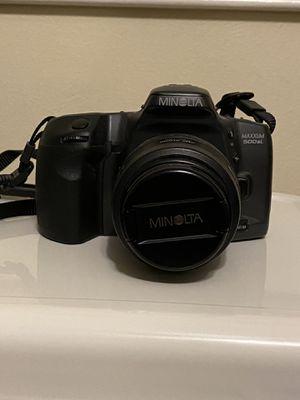 Minolta film camera. for Sale in Chesapeake, VA