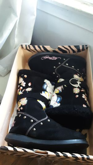 Ed Hardy Boots Size7 for Sale in Carson, CA