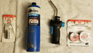 PROPANE TORCH/SOLDDERING KIT for Sale in Tampa, FL