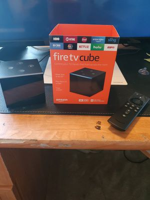 Amazon Fire 4K TV Cube *JB* for Sale in Garland, TX