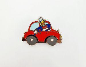 Disney Donald Duck in Red Car / Fiat (Travel Co.) Trading Pin for Sale in Trenton, NJ