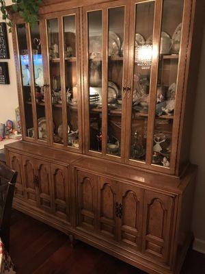 Antique Dutch cabinet, Mastercraft furniture company for Sale in Addison, IL