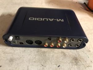 M Audio Fast Track Pro Audi Recording interface , it's basically a Digital Audio Recorder. If you're interested but never used one, read up on it. It for Sale in Fallbrook, CA