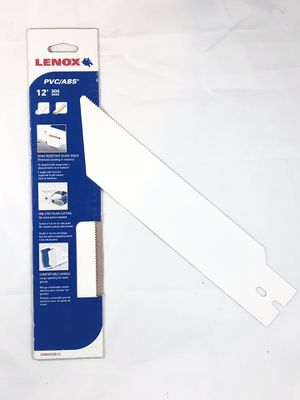 LENOX 12in(300mm) Blade for PVC/ABS 20982HSB12 for Sale, used for sale  Deerfield Beach, FL