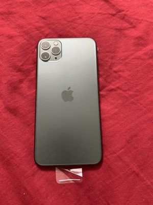 IPHONE PRO MAX 256gb midnight green Unlocked full 1 Year apple 🍎 warranty . Brandnew for Sale in Houston, TX