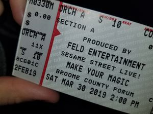 4 SESAME STREET LIVE TICKETS for Sale in Greene, NY