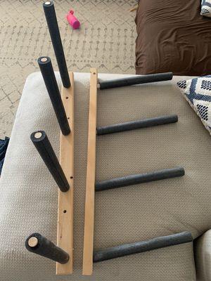 Wall mounted surfboard racks (2) for Sale in Manteca, CA