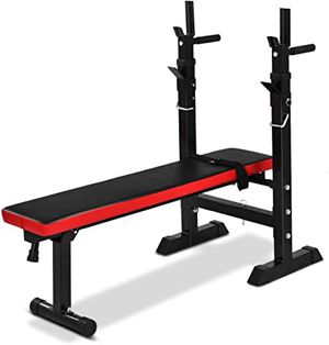 Weight bench w. Bar and weights and dumbbells . for Sale in Fairmont, WV