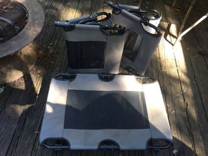 Foldable pet beds for small to med size dogs for Sale in Fayetteville, AR