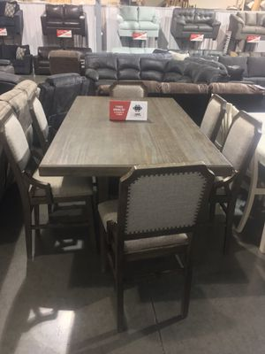 7Pc Dining Table Set Sale for Sale in Maywood Park, OR