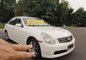 $6OO URGENT For sale 2OO5 Infinity G35 Sport Runs and drives excellent Fully loaded for Sale in Arlington, VA