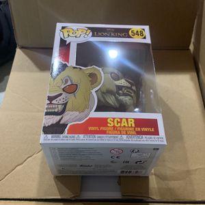 Funko Pop Scar 548 for Sale in Sultan, WA