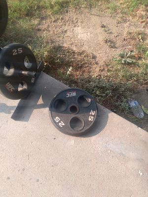 2 25lbs plates for Sale in Pomona, CA