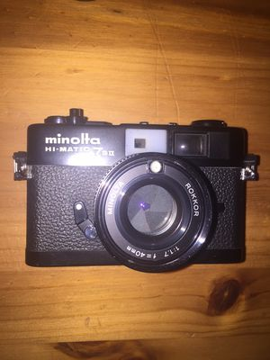 Minolta hi matic 7iis for Sale in Fullerton, CA